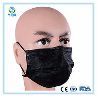 New products Healthy easily breathing Active Carbon 4 ply Face Mask from Hubei factory