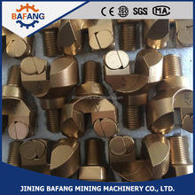 High quality concave type PDC diamond non core drill bits for hard rock