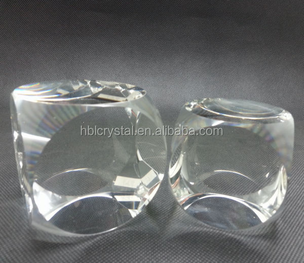 Top quality k9 blank crystal glass block for 3d laser engraving