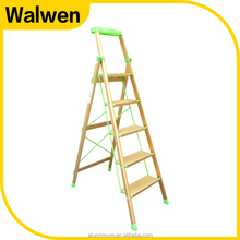 Super quality portable household aluminum ladder price step ladder chair for lidl
