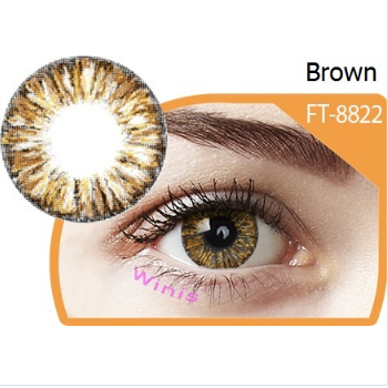 Red Box with lens case FreshTone Angel cosmetic charming cheap price color contact lens from Korea