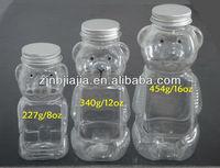 8oz,12oz,16oz Honey Bear Bottle Plastic Packing With Aluminium Cap