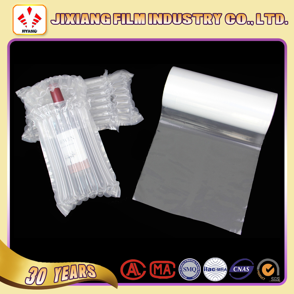 Air bubble packaging PA/PE Air cushion film for wine bottle/glass product package