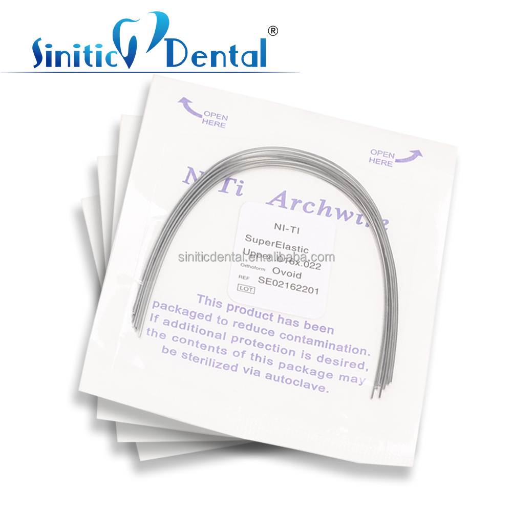 Sinitic Dental orthodontics insurance arch wire food grade stainless steel wire