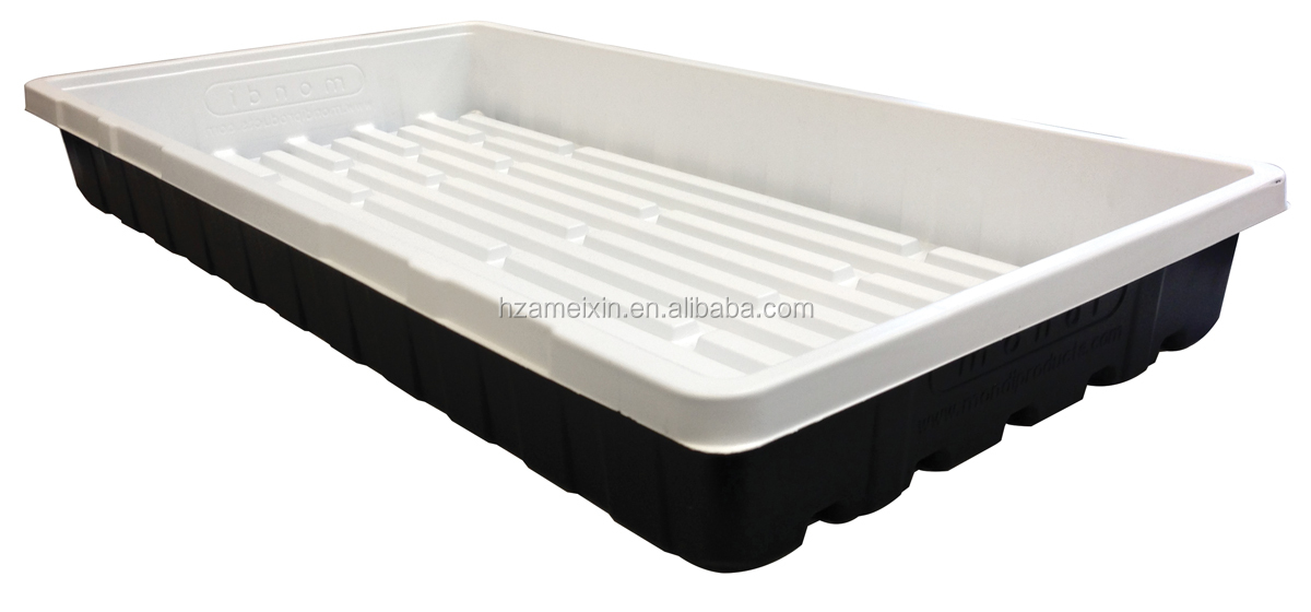 High quality large plastic plant trays hydroponics growing hydroponic sprouting tray with good price