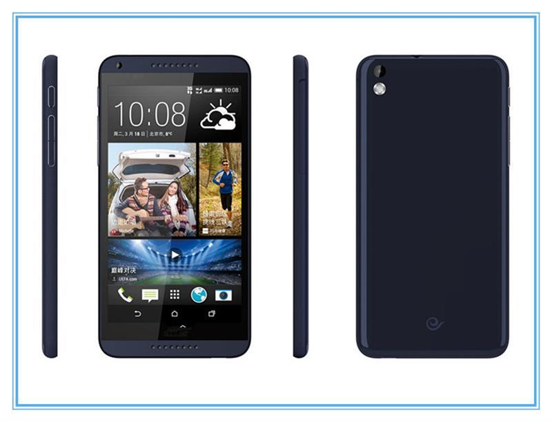 Brand new 816 cellphone desire 816 front bezel frame black and white chinese brand mobile phone smartphone