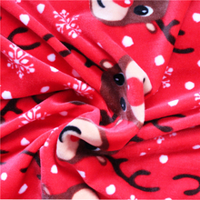 100%polyester microfiber spandex print crystal super soft short plush fabric with cow pattern for baby products