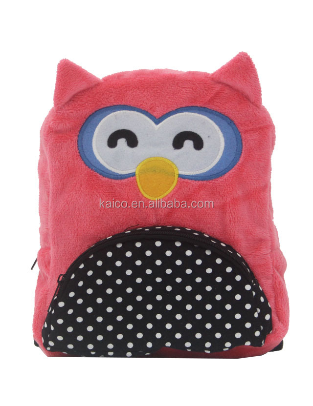 Lovely animal Pet dog Backpack for Travelling or Hiking/owl pink dog backpack adjustable