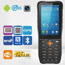 handheld palm pda Android OS NFC Terminal with barcode scanner