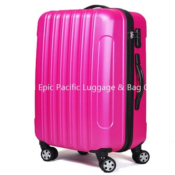 Beautiful Hot Pink Girls Trolley Suitcase Pc Hard Suitcase For ...