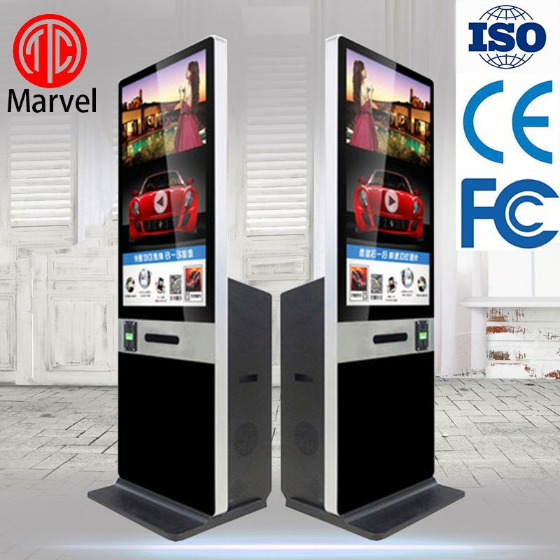 Hot Sell Portable Vending Machine Digital touch screen coin-operated kiosk with printer