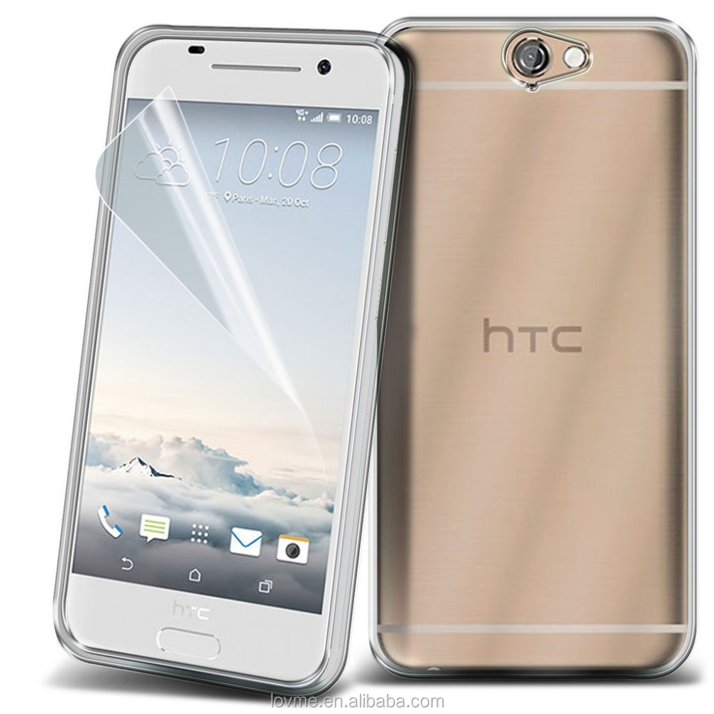 Ultra Thin Clear TPU Gel Back Case Cover For HTC One A9