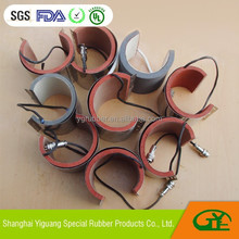 Flexible Silicone Mug Heater/press heating machine