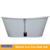 discount Freestand Skirted Cast Iron Bathtub with cUPC certificate