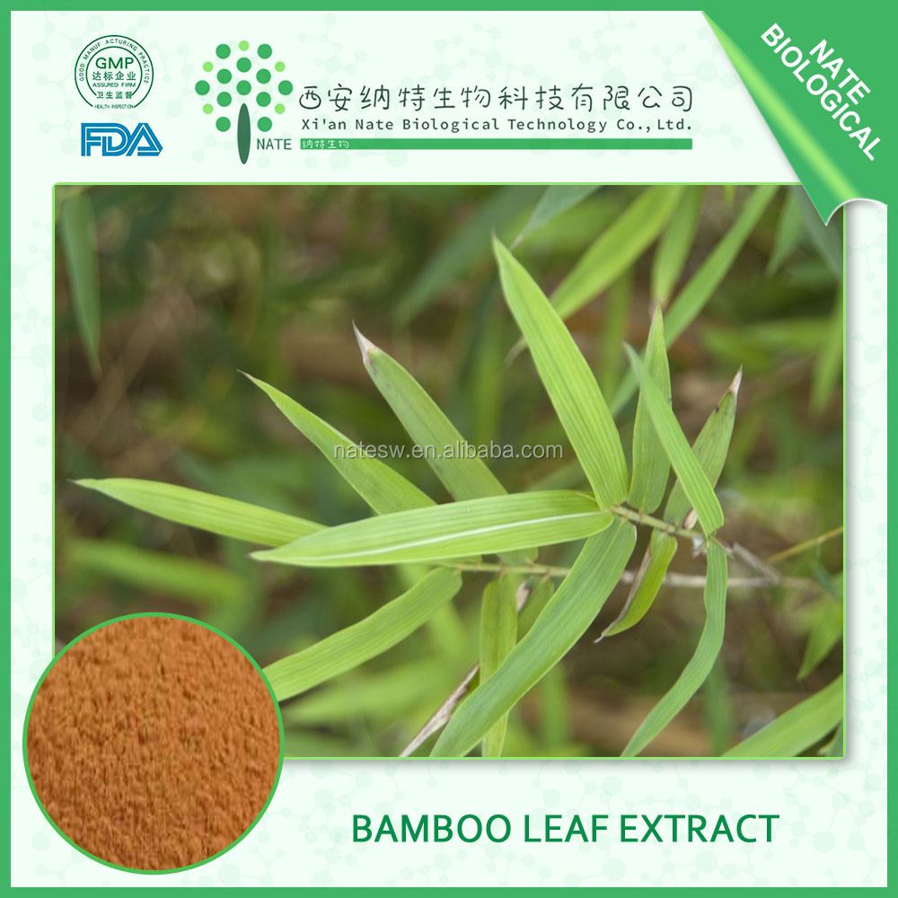 100% pure natural Low price Bamboo Leaf Extract 70% Silica with free sample