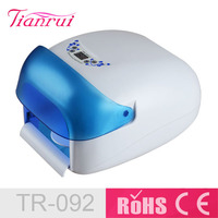 2015 818 Hot Sell Professional UV Nail Lamp 36 Watt With Fan With Sensor