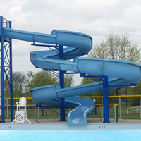 Cheap Roaring River Tube Pool Slide On Sale