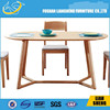 DT007-2 oval solid wood dining table,exotic wood dining tables,wood rustic dining table