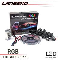 RGB Car Underbody Light 42W 2800LM Car Truck multi-color RGB strips Neon RGB LED Strips