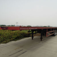 SINOTRUK 2 20FT Semi Trailer For