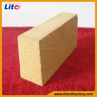 Al2O3 45% different types of refractory bricks for coke oven and cement kiln