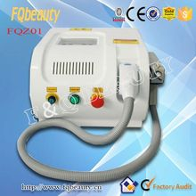 FQ-Z01 Germany Lamp beauty equipment q switched nd yag laser tattoo removal machine