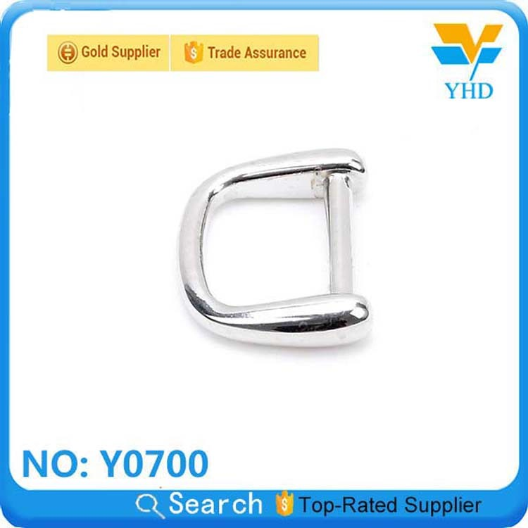mini gold fashion zinc alloy D-ring for handbag
