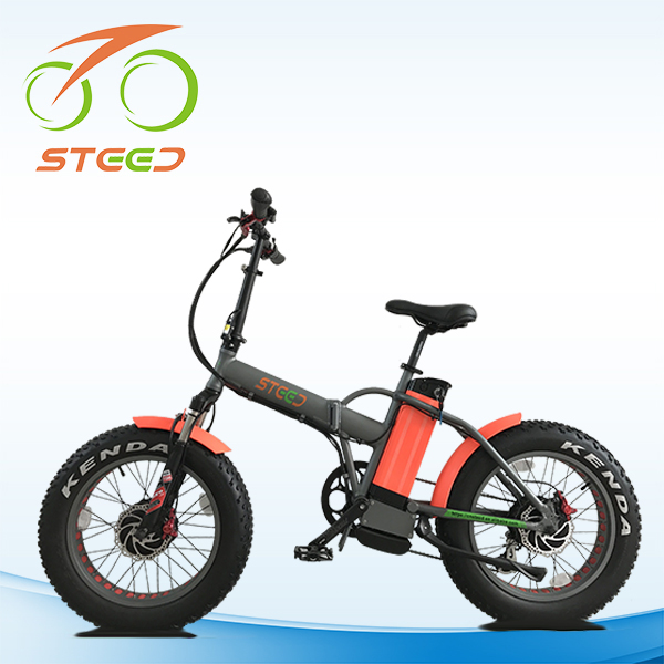 newest pantera foldable bikes electric with 2 motors