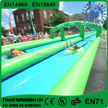Sweep Around The World Long Giant Inflatable Water Slip And Slide