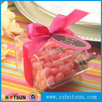 Food grade clear acrylic bulk candy bin
