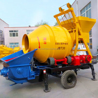 High quality automatic JBT15 diesel engine concrete mixer pump for construction