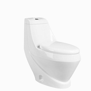 OEM best quality high tank washdown luxury style sanitary ware ceramic one piece wc toilets