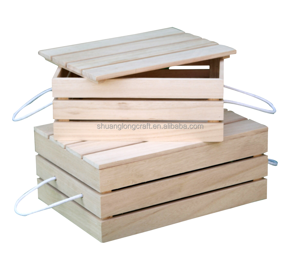 how to make wooden fruit crates
