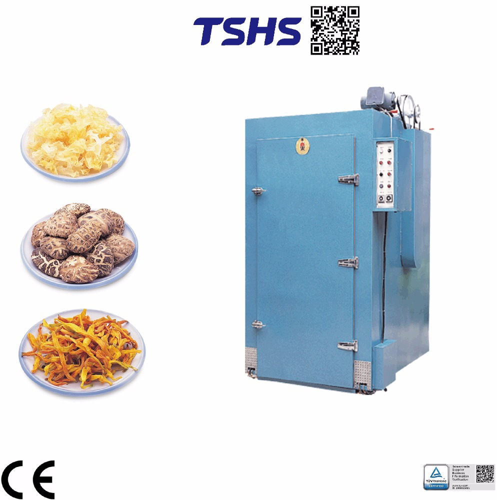 High quantity continuous dryer in garlic