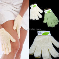 Daily Needed Product!! Promotional 100% Natural Wholesale bath exfoliating scrubber glove