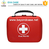 Handy carry popular red color portable travel first aid kit bag