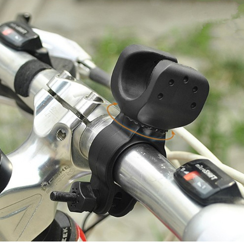 Bike Accessories 360 Swivel Bicycle Bike Light Luces Led Bicicleta LED Flashlight Mount Bracket Holder Torch Clip