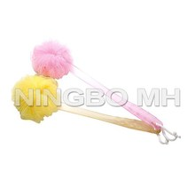 Long Handle Bath Mesh Sponge