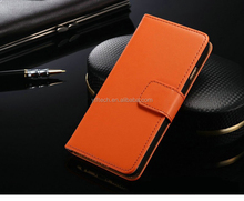 Made in China high quality newest 2017 Ultrathin Vintage Style Wallet Card Slots Leather Case Flip Phone Case for huawei Y3 2017
