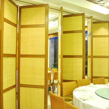 High Quality Saving Space Furniture Screen Room Divider Folding Room Partition for Dining Halls