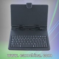 2011 hot sale keyboard and leather case for tablet,Easy to place inside a bag or carry alone,Tested before ship