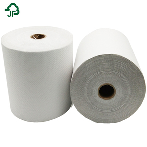 Recycled Pulp Paper Hand Towel Roll Hand Tissue Paper Roll Welcome Custom