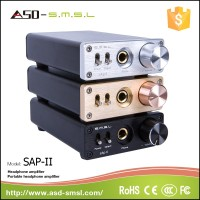 SMSL sAp-II Pro TPA6120A2 aluminum case and power integrated headphone Amplifier