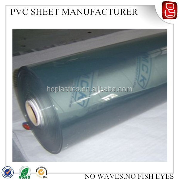 glow in the dark pvc film/pvc super clear film/pvc flexible plastic sheet 10mm