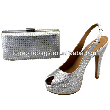 Italy 2014 new women shoes with matching bag guangzhou manufacturer made in china