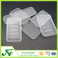 Latest design cheap top environmental food grade plastic blister tray