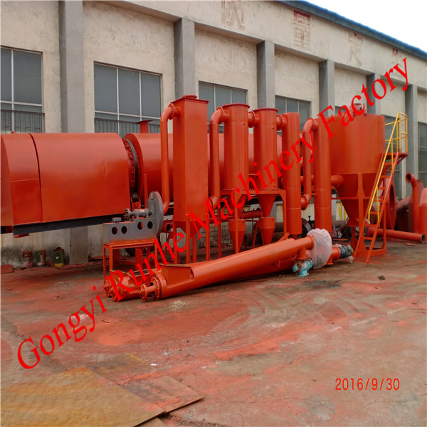 2016 Environmental waste to carbon coconut shell kiln carbonization