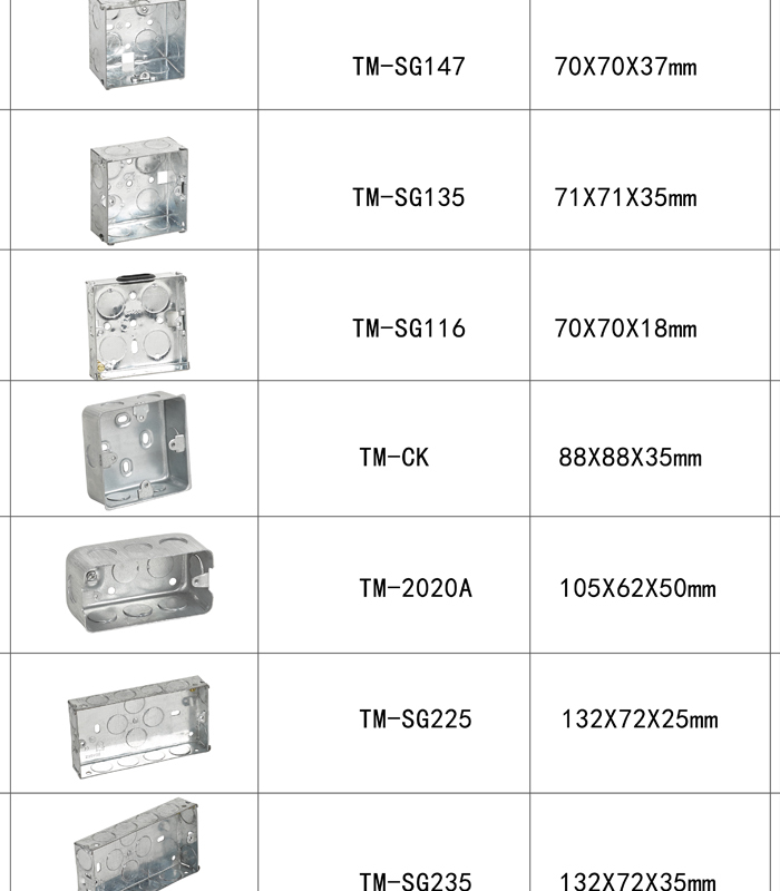 3 3 3 6 35mm 47mm 60229325228 on electrical outlet box sizes