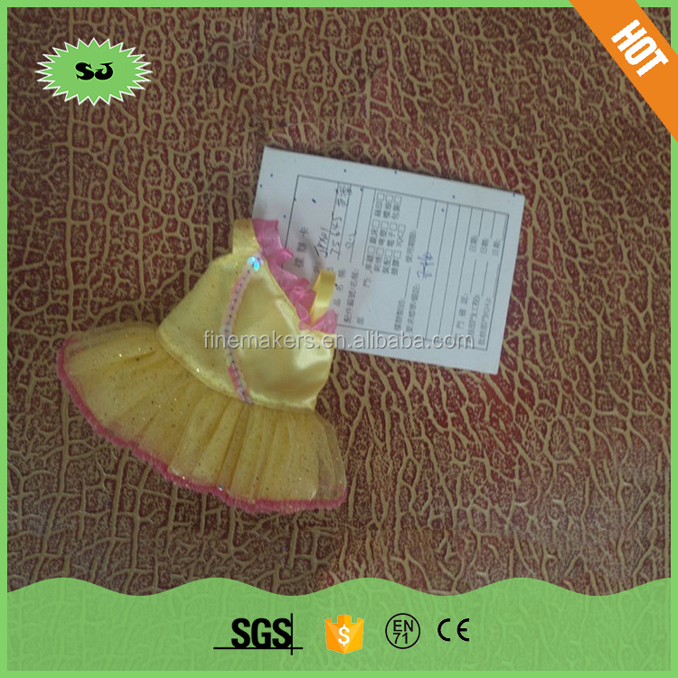 Chinese suppliers tag for doll clothing , funny 18 inch doll clothing