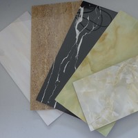 Wholesale imitation marble pvc panel/pvc sheet/pvc board for interior decoration
